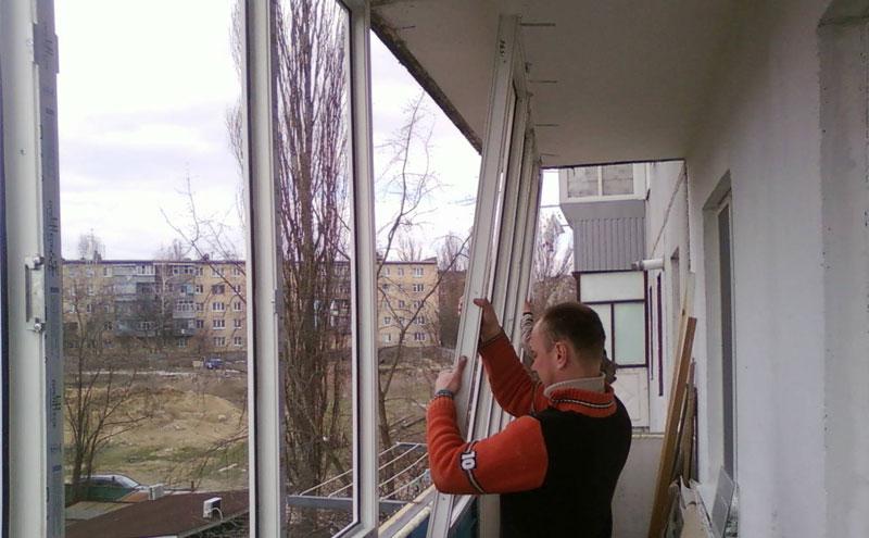 Монтаж металлопластиковых окон, инструкция по монтажу.